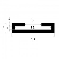 Protection de feuillard 10 x 1 mm
