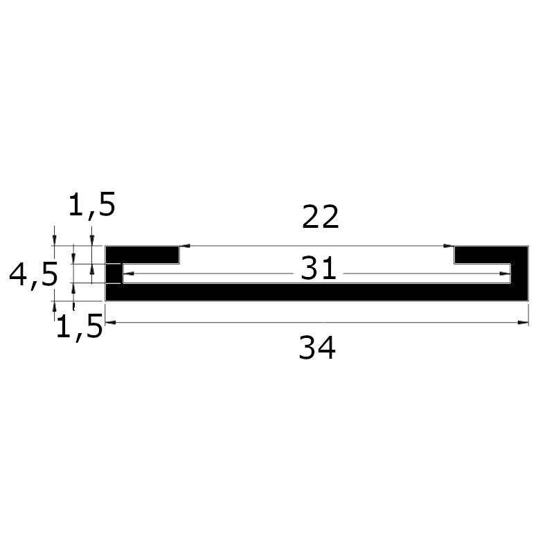 Protection de feuillard 30 x 1.5 MM