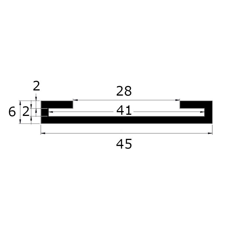 Protection de feuillard 40 x 2 mm