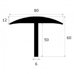 Protection pont bascule épaisseur  6 mm