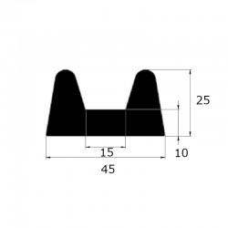 ep8406 - Profil butoir 45 x...