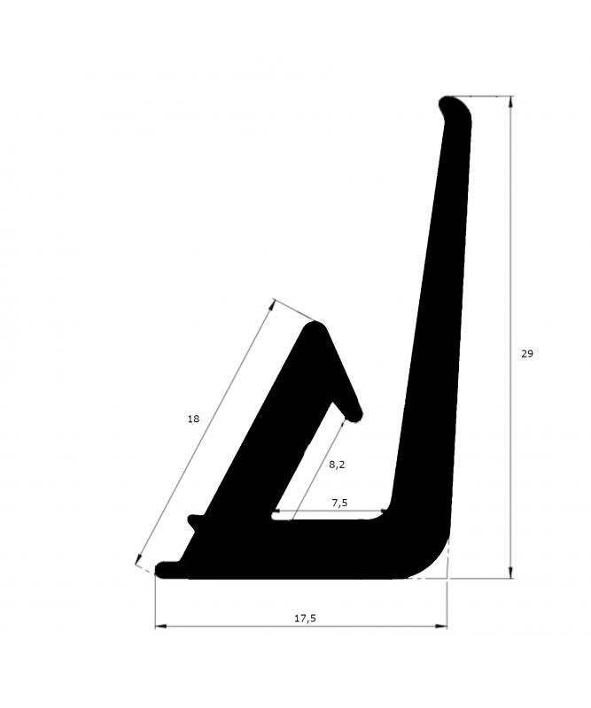 joint de toiture 29mm